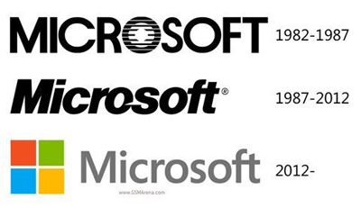 Microsoft quyt nh i logo sau 25 nm