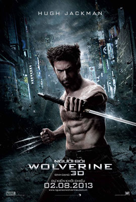 Poster của bộ phimThe Wolverine